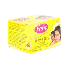 fem turmeric herbal fairness creme bleach 24 Gm