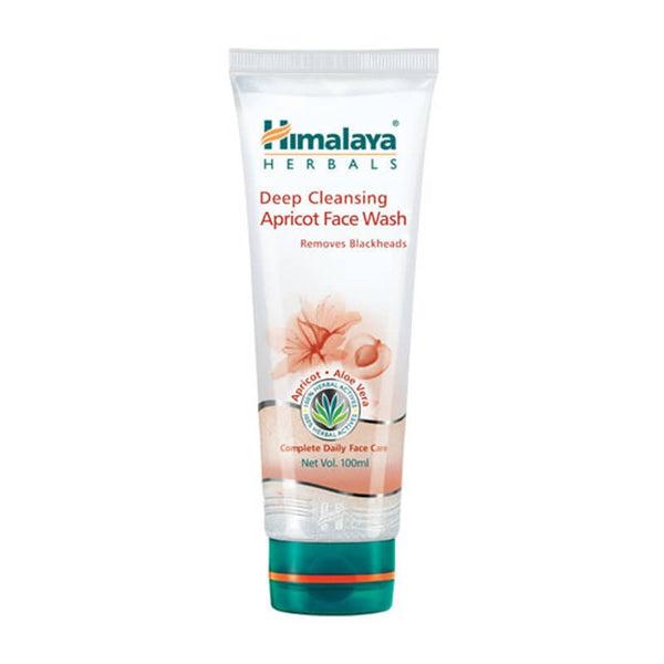 Himalaya deep cleansing apricot face wash pevents blackheads