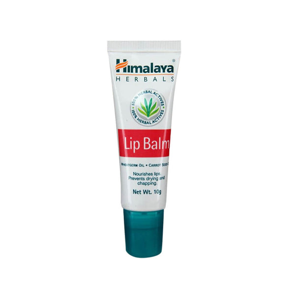Himalaya Herbal Lip Balm Carrot Seed Oil Nourishes Lips 2 x 10 Gm