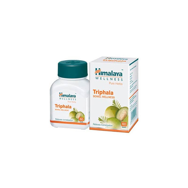 Himalaya Welleness Pure Herbs Triphala Relieves Constipation 60 Tablets 1 Pc