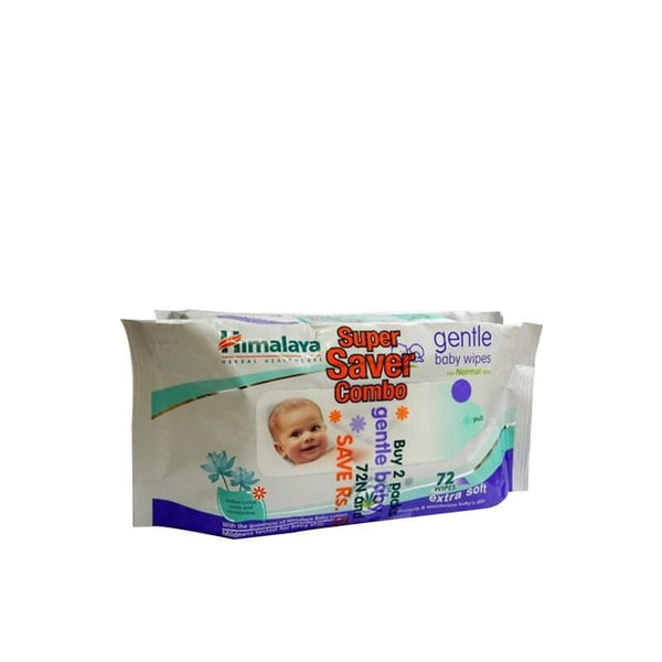 Himalaya Gentle Baby Wipes Extra Soft Super Saver Combo Pack