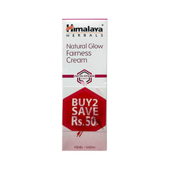 Himalaya Herbals Natural Glow Fairness Cream (Pack of 2)