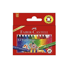 Faber Castell 15 Wax Crayons 57Mm