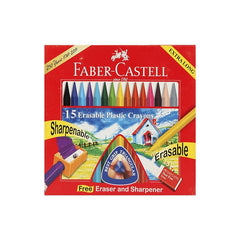 Faber Castell Erasable Crayons - 110 Mm