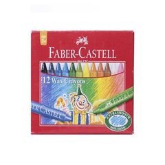 Faber Castell 75Mm Wax Crayons