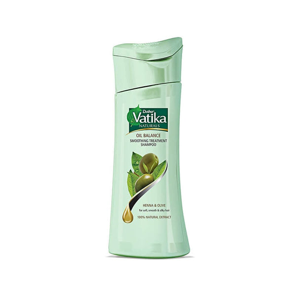 Dabur Vatika Naturals Oil Balance Smoothing treatment Henna & Olive Shampoo