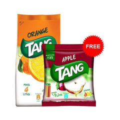 Tang Orange Flavor with Free Tang Apple - 125 Gm