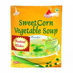 Bambino sweet corn veg soup powder