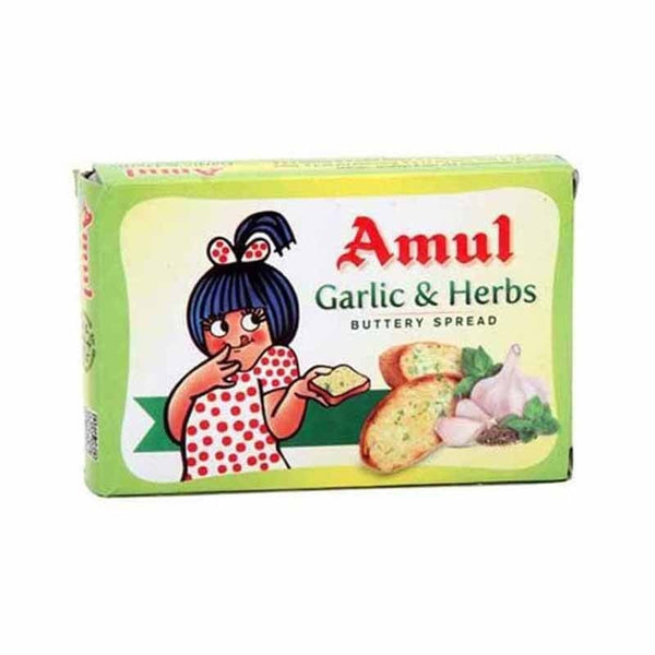 Amul Garlic & Herbs Buttery Cheese Spread