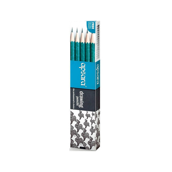 Apsara 2B Drawing Pencils Free with Non Dust Eraser