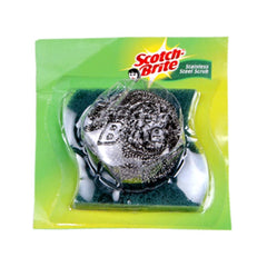 Scotch brite stainless steel scrub 3M free scrub pad worth Rs 10