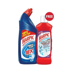 Harpic Power Plus Original With Free Harpic Bathroom Cleaner 200 Ml