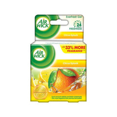 Air Wick Air Freshener Citrus Splash EverFresh Gel - BazaarCart Best Online Grocery Store