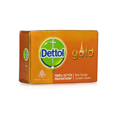 Dettol Gold Bar Soap Classic Clean