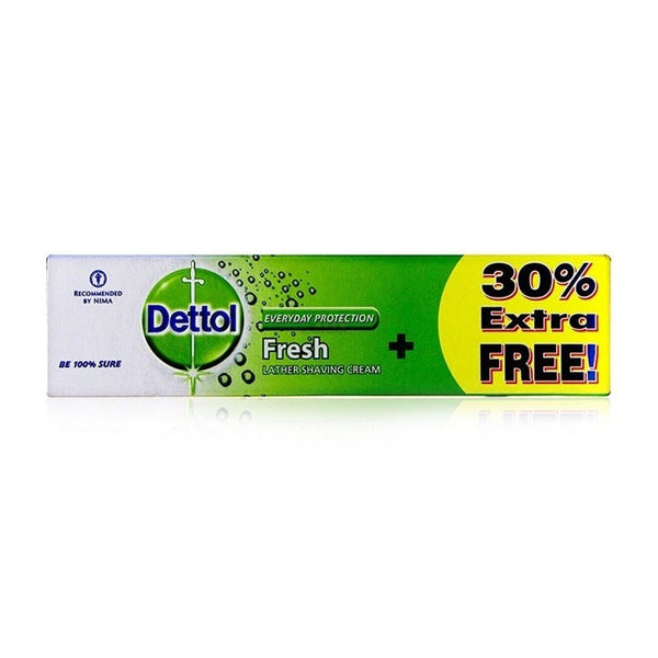 Dettol Everyday Protection Fresh Lather Shaving Cream