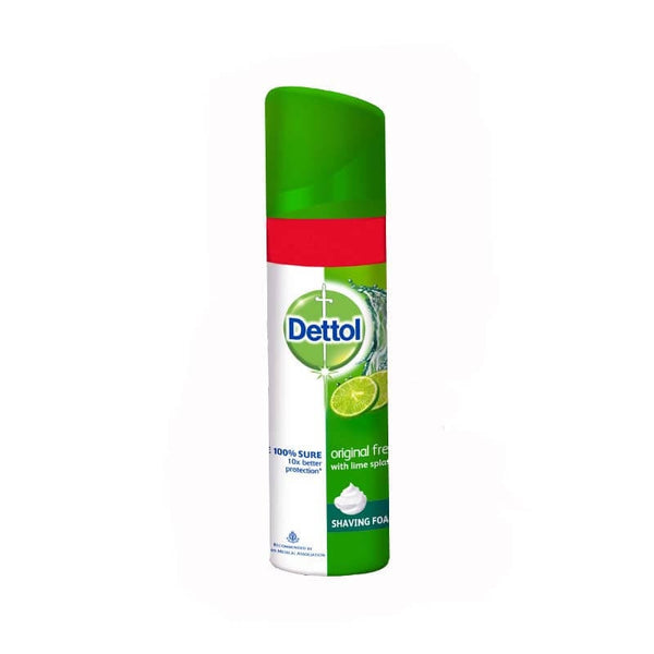 Dettol Original Fresh With Lime Splash Shaving Foam