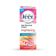 Veet Brightening Normal to Dry Skin with Microbeads Hair Removal Cream