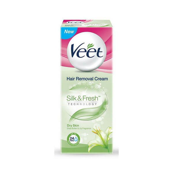 Veet Dry Skin Hair Removal Cream With Shea Butter & Lily Fragrance
