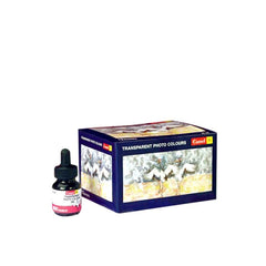 Camel Transparent Photo Colours - 20 Ml Each