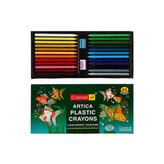 Camel Plastic Crayons Extra Long