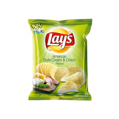 Lays American Style Cream & Onion Flavour Potato Chips
