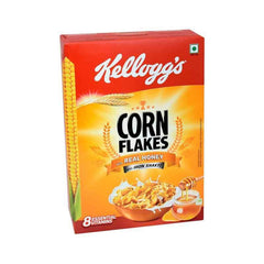 Kelloggs corn flakes with real honey