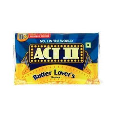 Act ll Butter Lovers Microwave Flavour