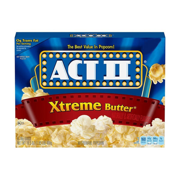 Act II Xtremer Butter