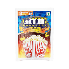 Act II Movie Theatre Butter Flavour Hot 'N' Fresh Popcorn