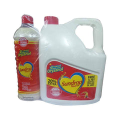 Sundrop Heart Vegetable Oil with Free 1 Ltr Pet Bottle