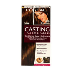 Loreal 535 Chocolate Casting Creme Gloss Conditiong Gloss Golden Chocolates