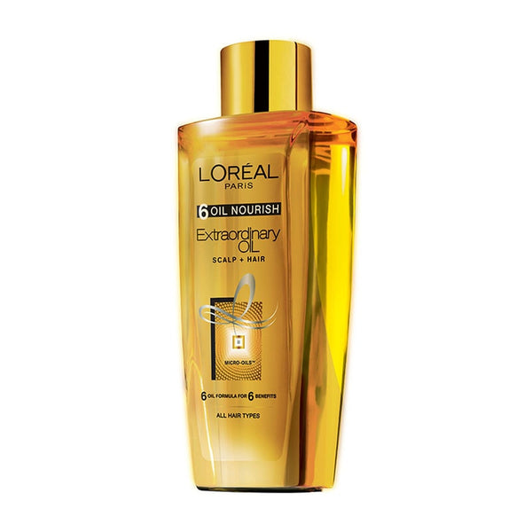 Loreal 6 Oil Nourish Extraordinary Oil Hair Oil Scalp+Hair