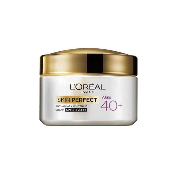 L'Oreal Paris Age 40+ Skin Perfect Anti-Aging + Whitening Cream SPF 21 PA+++