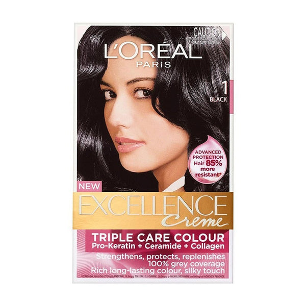 Loreal 1 Black Triple Care Creme Excellence Creme