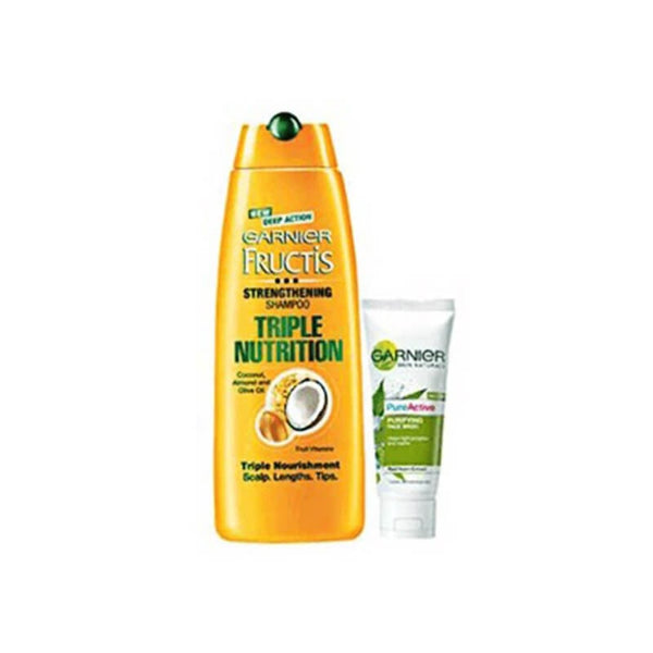 Garnier Fructis Triple Nutrition  Free Garnier Pure Active Face Wash