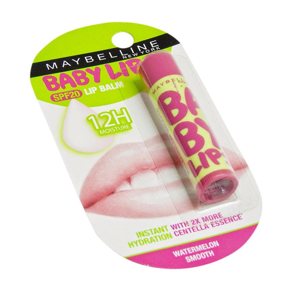 Maybelline Baby Lips Colour Spf 20 Lip Balm Watermelon Smooth