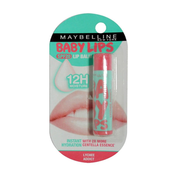 Maybelline Baby Lips Colour Spf 20 Lip Balm Lychee Addict 4 Gm