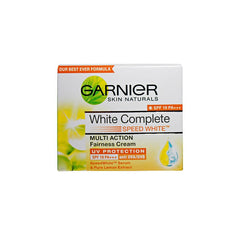 Garnier Skin Naturals White Complete  Multi Action Fairness Cream spf 19 pa+++ Free Face Wash