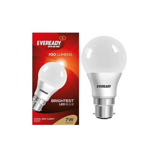 Eveready Base B22d 7 Watt Led Bulb With Cool Day Light