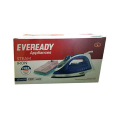Eveready Dry Iron- 1400W Si400