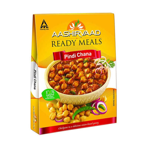 Aashirvaad Ready Meals Pindi Chana