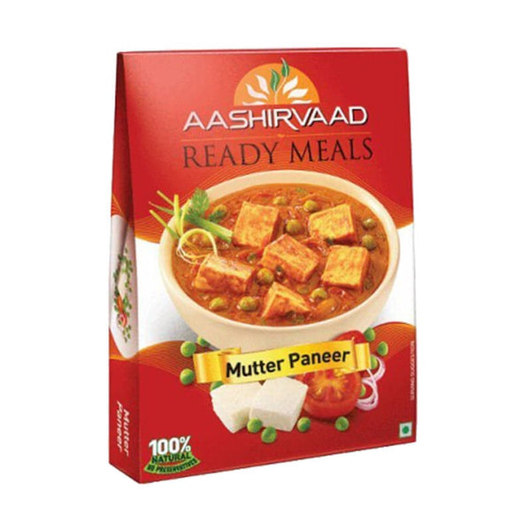 Aashirvaad Ready Meals Mutter Paneer