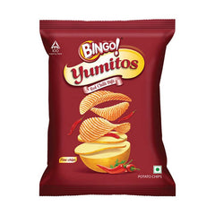 Bingo Yumitos Red Chilli Bijli Potato Chips 33 Gm
