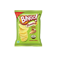 Bingo Yumitos Cream & Onion Potato Chips