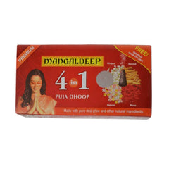 Mangaldeep Premium 4 In 1 Puja  Dhoop Sticks