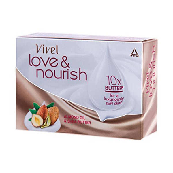 Vivel Love & Nourish Soap Almond Oil & Shea Butter