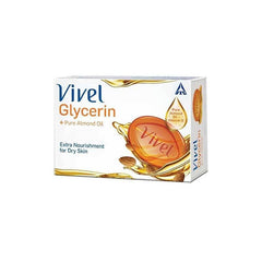 Vivel Glycerin + Pure Almond Oil Bathing Bar