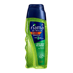 Fiama Di Wills Man Quick Wash Oil Control Tea Tree Bio-Actives Shower Gel