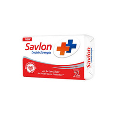 Savlon Double Strength With Active Silver Soap 3 x 75 Gm