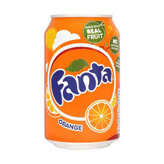 Fanta Orange Flavoured Can